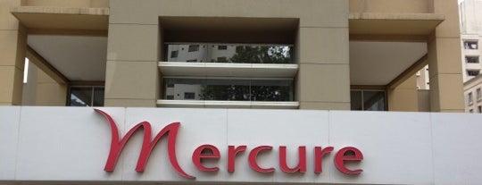 Mercure São Paulo Vila Olímpia is one of Orte, die Sergio M. 🇲🇽🇧🇷🇱🇷 gefallen.
