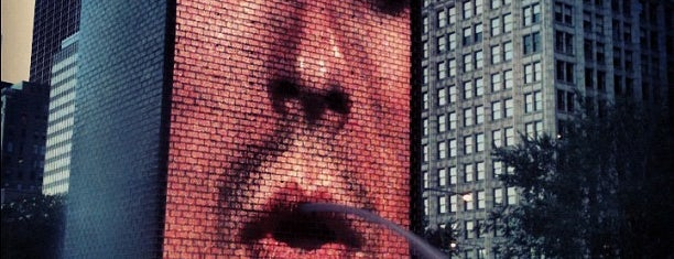 Crown Fountain is one of Chicago Attractions.