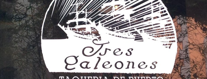 Tres Galeones is one of TODO.