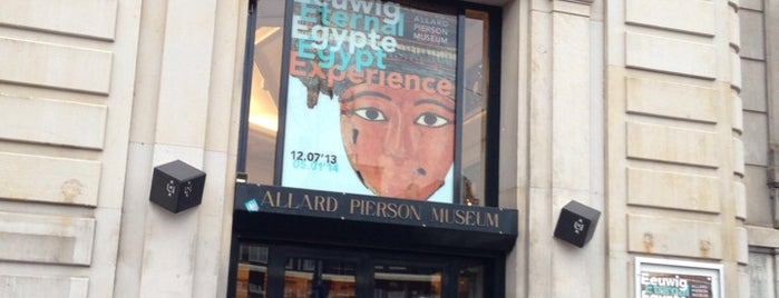 Allard Pierson Museum is one of Musea Amsterdam.