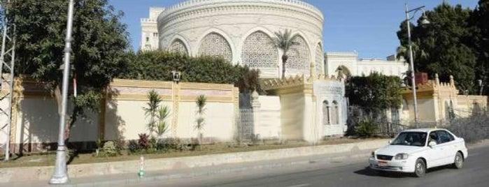 Egyptian Presidential Palace is one of Posti salvati di Suzi.