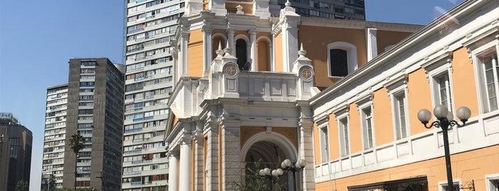 Iglesia Divina Providencia is one of Monumentos Nacionales.