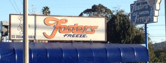 Fosters Freeze is one of LA LA LAND🌴🌞.
