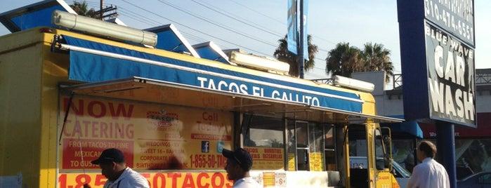 Tacos El Gallito is one of Tempat yang Disukai Grant.