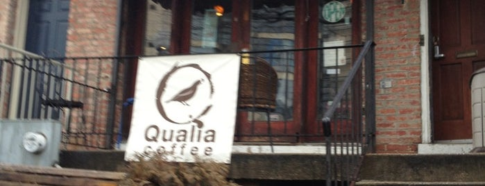 Qualia Coffee is one of Lugares favoritos de Ken.