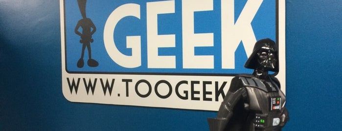 TooGeek is one of Locais salvos de Liliana.