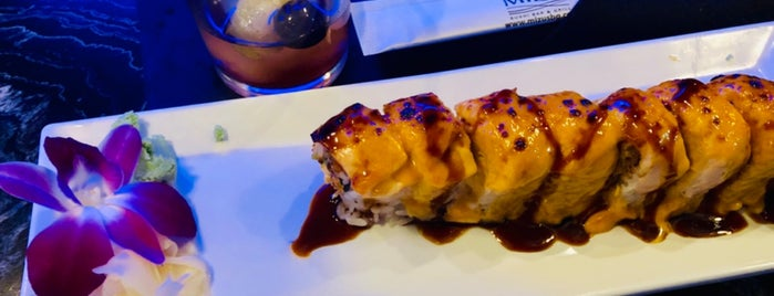 Mizu Sushi Bar & Grill is one of Locais curtidos por Annie.