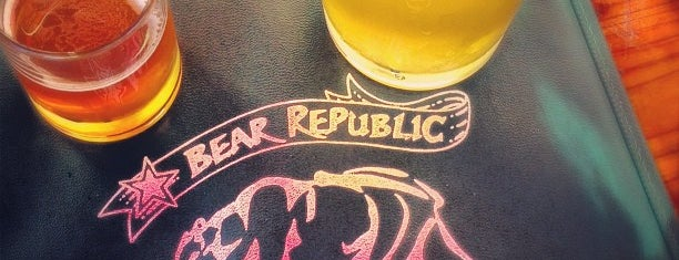 Bear Republic Brewery is one of West Coast Breweries.