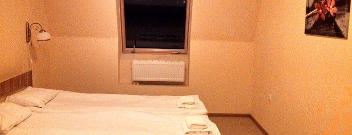 Hotel Ekotel is one of Tempat yang Disimpan Volodymyr.