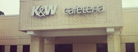 K&W Cafeteria is one of Lugares favoritos de allie.
