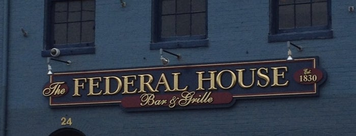 Federal House is one of Best Bars in Maryland to watch NFL SUNDAY TICKET™.