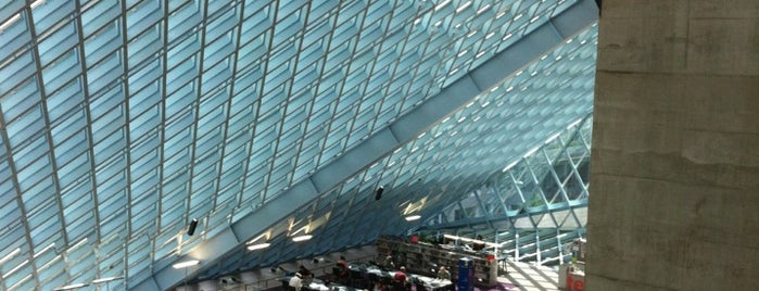 Seattle Public Library is one of SEA NYE.
