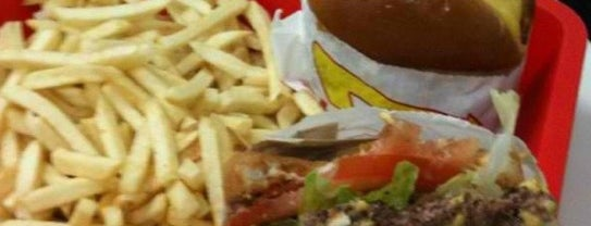 In-N-Out Burger is one of Yum5.