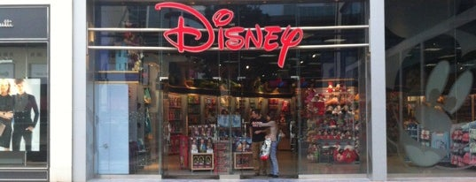 Disney Store is one of Barcelona shopping.