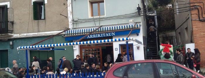 arrikitaun is one of San Sebastián.