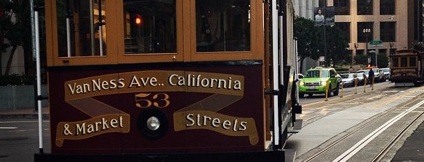 California Cable Car Turnaround-East is one of San Francisco Bay.
