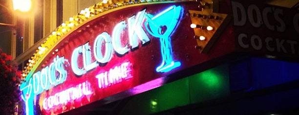 Doc's Clock is one of Dog friendly by night.