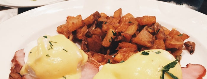 Jane is one of NYC's Best Eggs Benedict Dishes.