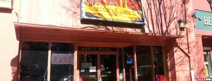 Picante's Mexican Grill is one of Athens GA.