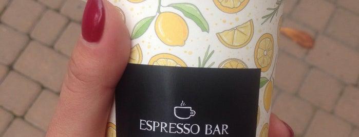 Bezbrendu Espresso Bar is one of Lieux sauvegardés par Artiom.