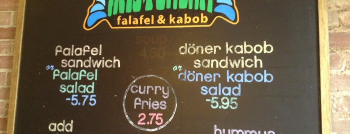Amsterdam Falafel & Kabob is one of Places on work travel.