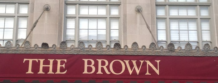 The Brown Hotel is one of Kentucky Y'all.