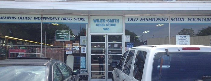 Wiles-Smith Drug Store is one of Lugares guardados de Carrie.