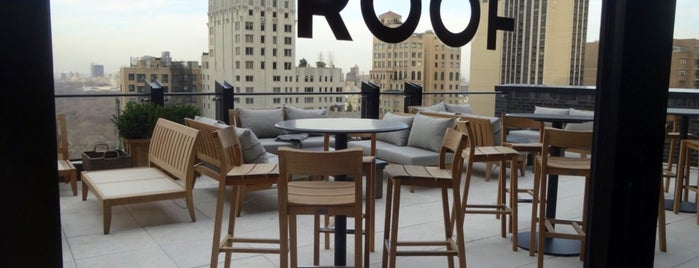 The Roof is one of nyc - outdoor wine/dine.