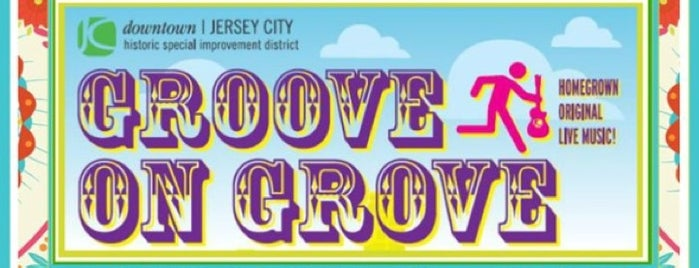 Groove On Grove is one of Downtown Jersey City.