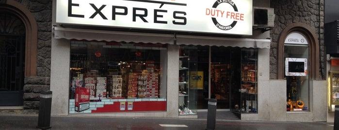Exprés - Duty Free is one of สถานที่ที่ Watashi ถูกใจ.