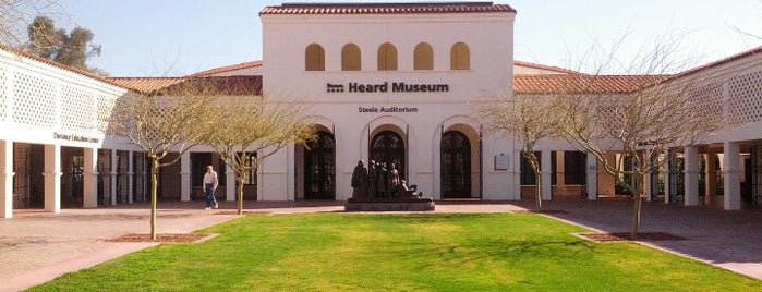 Heard Museum is one of West Coast Sites.