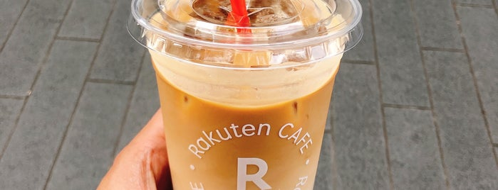 Rakuten Cafe at 9th floor is one of Tempat yang Disukai jordi.