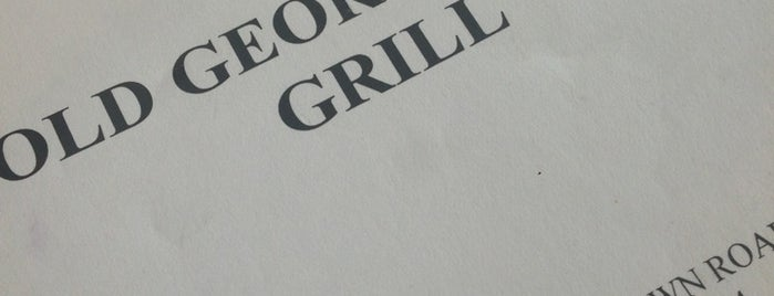 Old Georgetown Grille is one of Locais salvos de ChefTony.