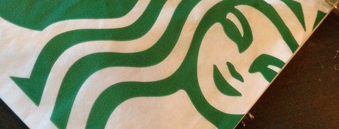 Starbucks is one of สถานที่ที่ Kate ถูกใจ.