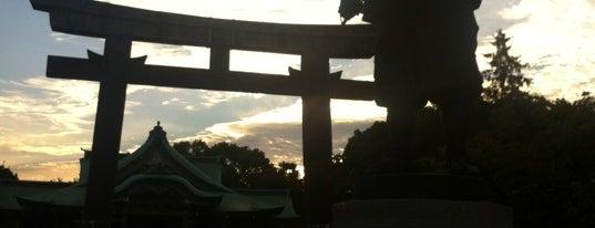 豊国神社 is one of Saejimaさんのお気に入りスポット.