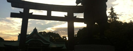 Hokoku Shrine is one of Isabel 님이 좋아한 장소.