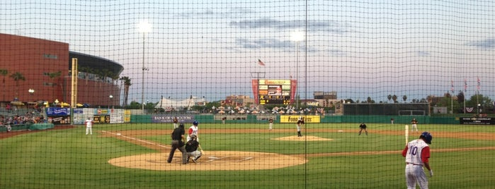 Stockton Ballpark is one of California - The Golden State (Northern).