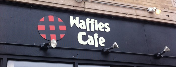 Waffles Cafe is one of United Mileage Plus Dining Spots.