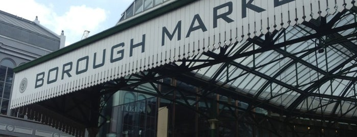 Borough Market is one of #londontour.