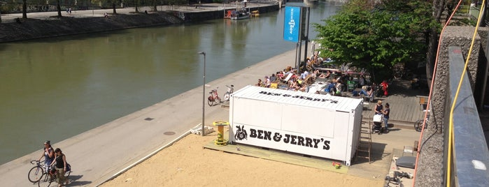BEN & JERRY'S am Donaukanal is one of Lieux qui ont plu à Gunnar.