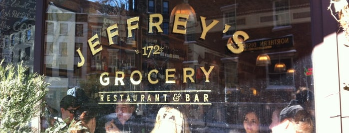 Jeffrey's Grocery is one of NYC + Brooklyn - Best Hits.
