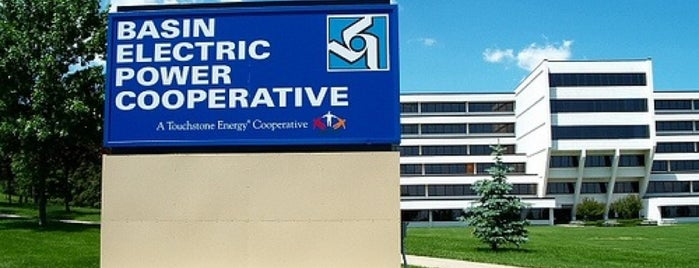 Basin Electric is one of Bismarck Usuals.