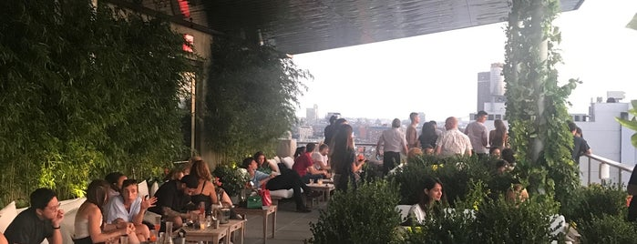 Public - Rooftop & Garden is one of Drinks.