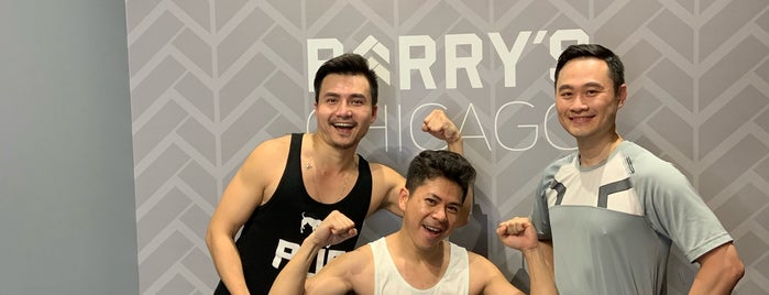 Barry's Bootcamp is one of Chicago Ideas.