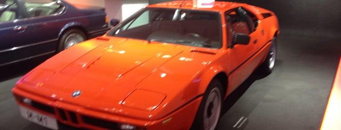 BMW Museum is one of Tempat yang Disukai Pavel.