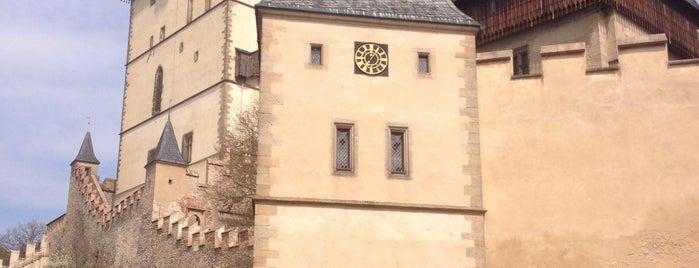 Státní hrad Karlštejn is one of Tempat yang Disukai Pavel.