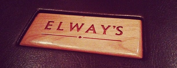 Elway's is one of Denver.