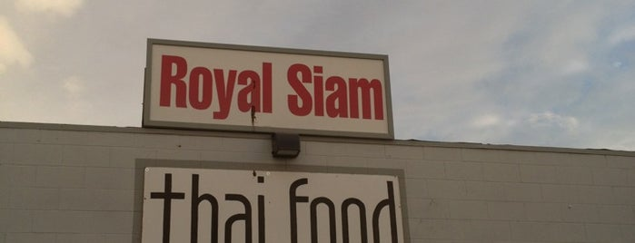 Royal Siam Thai is one of Personal saves.