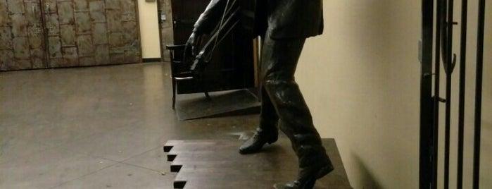 Elvis Presley Statue is one of Sculpture.