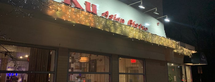 Ku Asian Bistro is one of Tonight West - All Potentials.